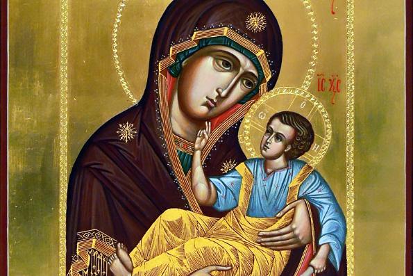 Словенская икона Божией Матери (1635 г.) | Жития святых | Православие в  Татарстане | Портал Татарстанской митрополии