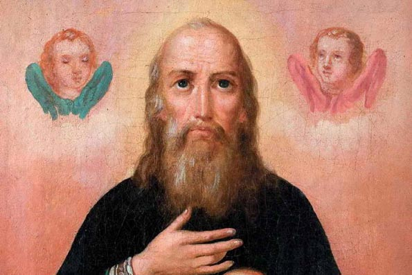 Преподобный Григорий чудотворец Печерский, в Ближних пещерах (1093 г.)