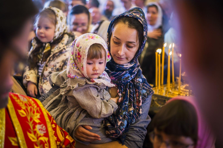 Фото дети в православном храме