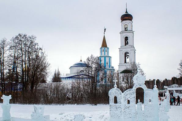 """Картинки по запросу """"раифский монастырь зимой"""""""""""