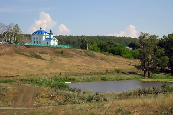 Церковь Преображения Господня, совхоз им. Воровского
