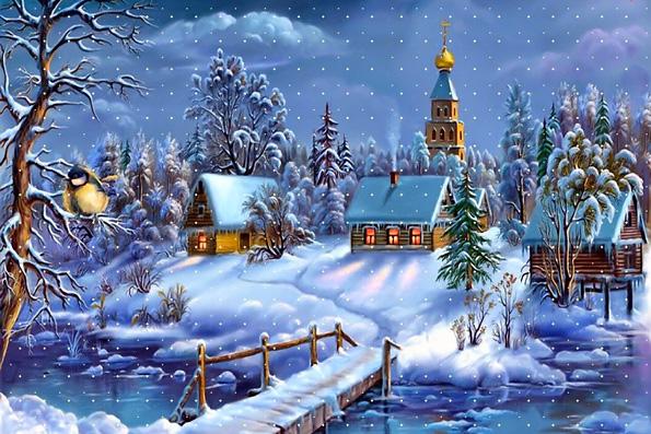 Поздравление с Рождеством Христовым Вороновского райисполкома и Вороновского районного Совета депутатов