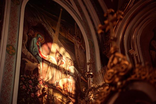 «Наш ответ на пришествие Христа в мир — это отворение дверей нашего сердца навстречу Господу»