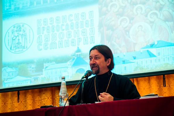 Профессор Московской духовной академии протоиерей Максим Козлов выступит с лекцией в Казанской духовной семинарии