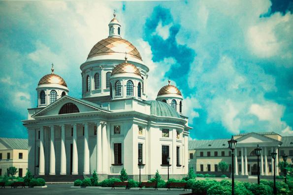 Сотрудники Министерства образования Татарстана пожертвовали часть дневного заработка на новый собор