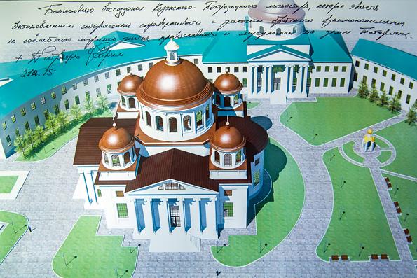 Казанский собор Казанско-Богородицкого монастыря – ковчег Всероссийской святыни