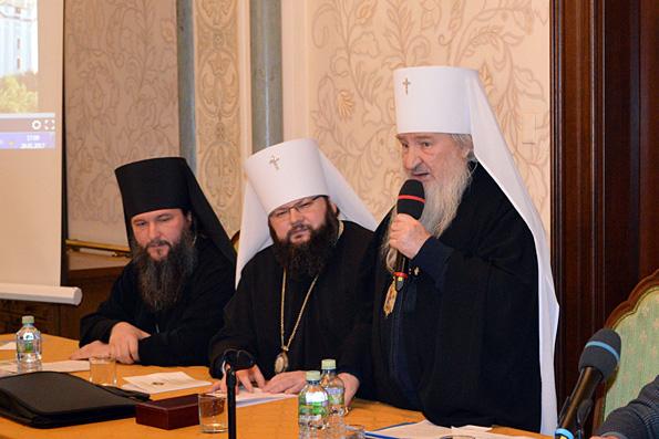 Митрополит Феофан принял участие в работе секции Рождественских чтений «Православная культура в современной школе»
