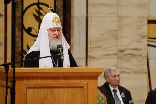 Патриарх Кирилл призвал общество стремиться к солидарному идеалу, в котором царит единство и братство