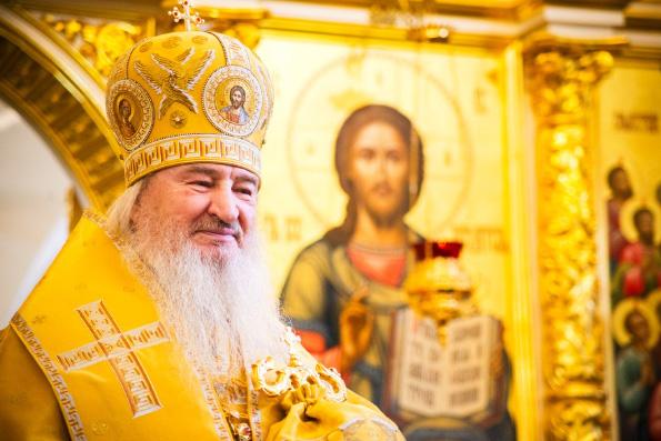 Митрополит Феофан: Мое служение в том, чтобы разделять со своей паствой и беды, и радости
