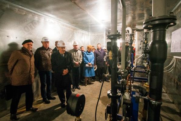 В пещерный храм возрождаемого собора Казанской иконы Божией Матери началась подача тепла