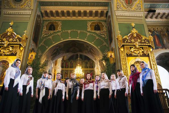 Фестиваль, посвященный Казанскому образу Богородицы