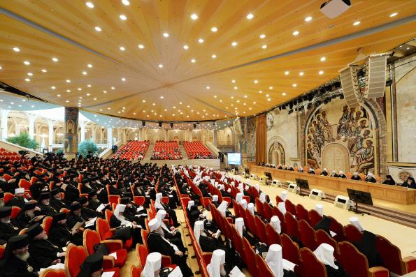 Архипастыри Татарстанской митрополии принимают участие в проходящем в Москве Архиерейском Соборе Русской Православной Церкви