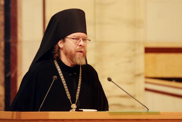 Епископ Егорьевский Тихон рассказал участникам Архиерейского Собора о ходе работ по идентификации «екатеринбургских останков»