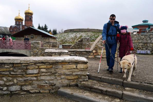 Набережночелнинское общество слепых провели детей воскресной школы совместный урок милосердия