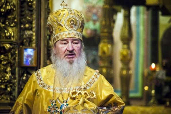 Проповедь митрополита Феофана в Неделю 25-ю по Пятидесятнице в Петропавловском соборе Казани