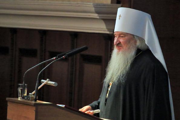 Выступление митрополита Феофана на III Форуме православной общественности Республики Татарстан
