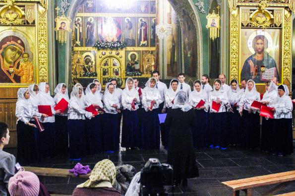 В Казани прошел фестиваль церковных хоров «Заступнице Усердная»