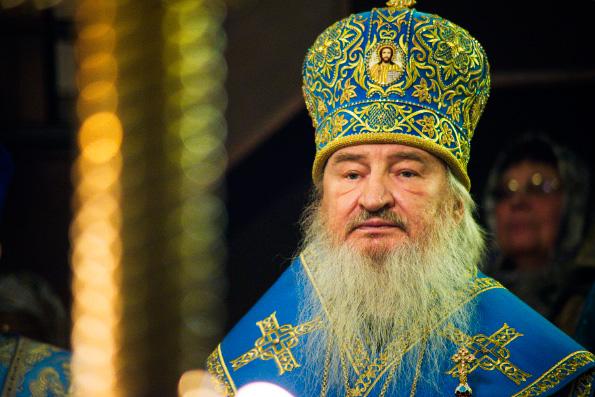 Проповедь митрополита Феофана в канун празднования Казанской иконе Богородицы в Казанско-Богородицком монастыре