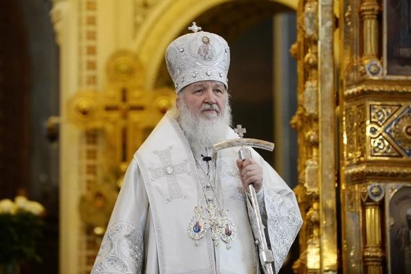 Национальная катастрофа, завершившаяся революцией, началась за 200 лет до нее, считает Патриарх Кирилл