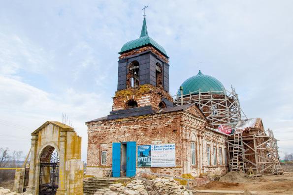 Храм бессребреников Космы и Дамиана, село Кураково