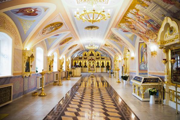 В храме Сошествия Святого Духа города Казани завершена роспись придела в честь священномученика Харалампия