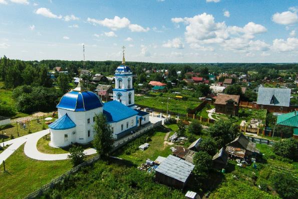 Храм пророка Илии, село Ильинское
