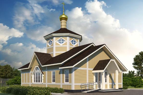 В Набережных Челнах началось строительство Крестовоздвиженского храма