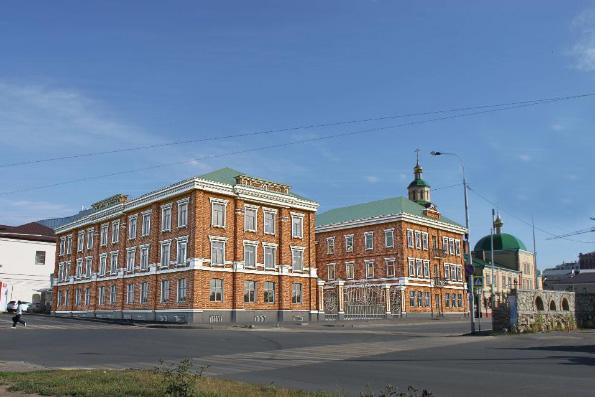 В Казани продолжается строительство нового учебного корпуса православной гимназии имени святителя Гурия Казанского