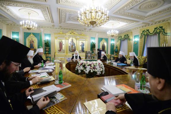 В Москве прошло последнее в 2017 году заседание Священного Синода Русской Православной Церкви