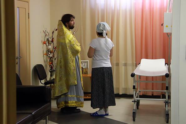 В часовне детского хосписа города Казани возобновлено постоянное служение Литургии