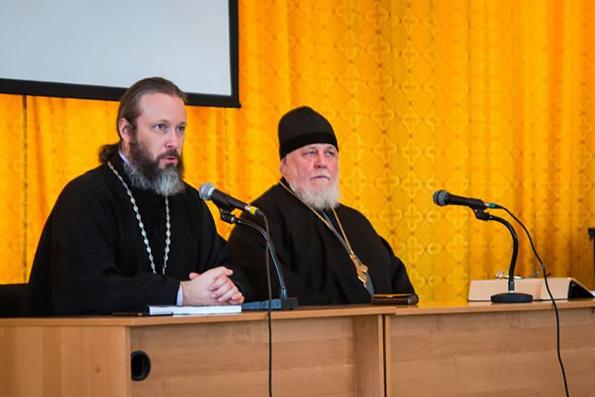 В Казанской духовной семинарии прошла встреча с протоиереем Николаем Агафоновым