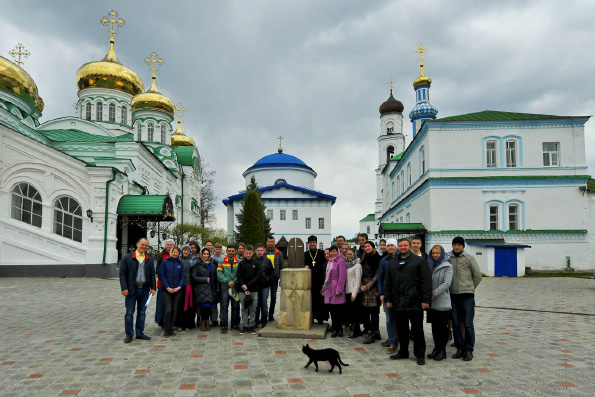 В Раифском монастыре проходит V Съезд православной молодежи Татарстана