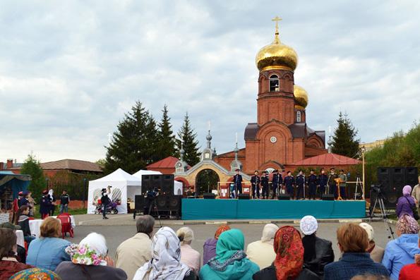 В Набережных Челнов стартовал казачий фестиваль «Боровецкий хутор»