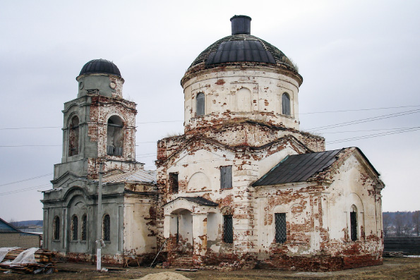 В селе Протопопово Буинского района восстанавливается храм Живоначальной Троицы