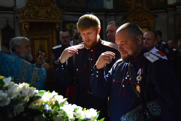 Святейший Патриарх Кирилл: Наиболее важной задачей была и остается консолидация казачьих общин вокруг храмов