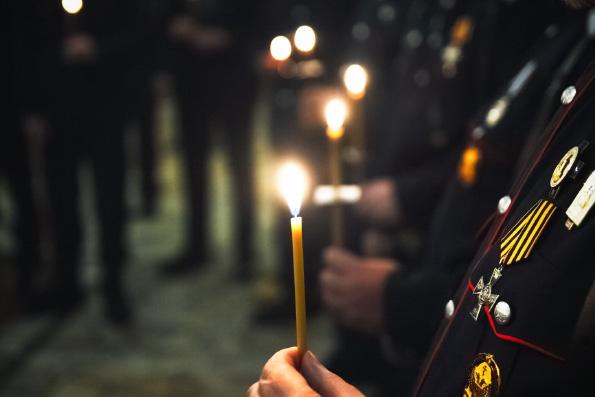В Набережных Челнах молитвенно помянули казаков, пострадавших в годы гонений
