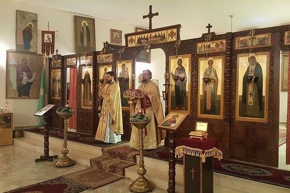 В храме Представительства Русской Православной Церкви в Дамаске возобновились регулярные богослужения