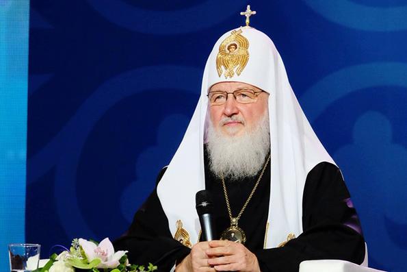Нравственный консенсус — универсальная основа для существования мира, — Патриарх Кирилл