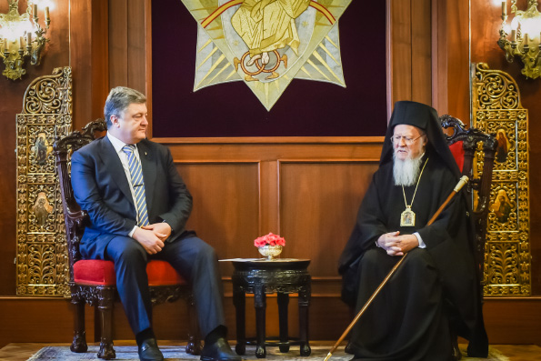 Подписано соглашение между Президентом Украины и Константинопольским Патриархом
