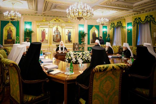 В Москве прошло последнее в 2018 году заседание Священного Синода Русской Православной Церкви