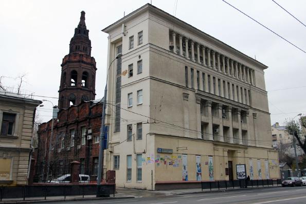 Росимущество передало Русской Православной Церкви бывшее здание «Союзмультфильма»
