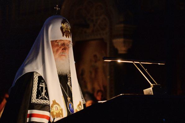 Святейший Патриарх Кирилл выразил соболезнования в связи с трагедией в Кемерове