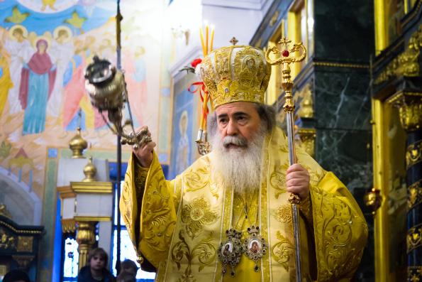 Бог избрал Предстоятеля Украинской Православной Церкви, чтобы преодолеть раскол, — считает Патриарх Иерусалимский