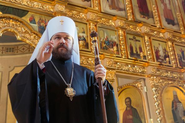 Митрополит Иларион: Действия Константинопольского Патриархата в отношении Украинской Церкви не поддержала ни одна Поместная Церковь