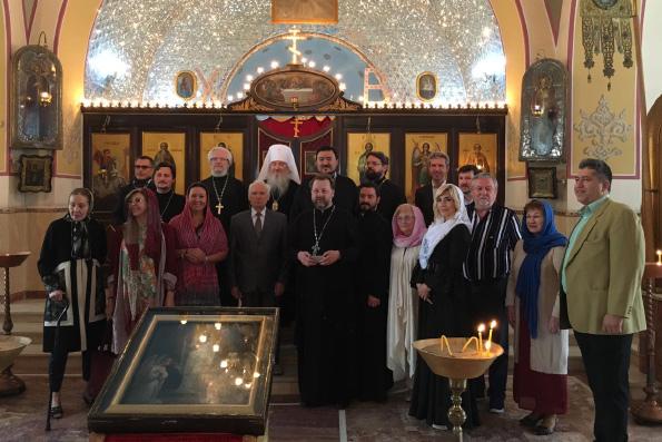 Митрополит Феофан совершил Божественную литургию в православном храме Тегерана