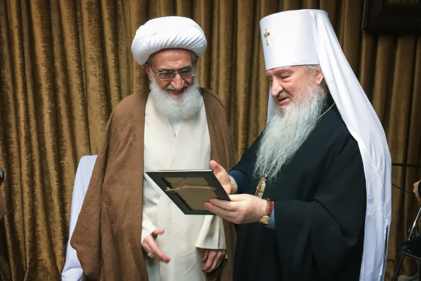 В ходе рабочей поездки в Иран митрополит Феофан встретился с рядом представителей государственной власти