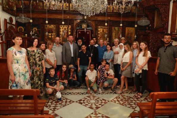 Семьи погибших российских военнослужащих посетили сирийские монастыри