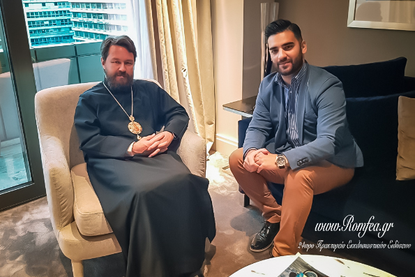 Митрополит Иларион: Патриарх Варфоломей очень ясно сказал, что никакой легитимации раскола не будет