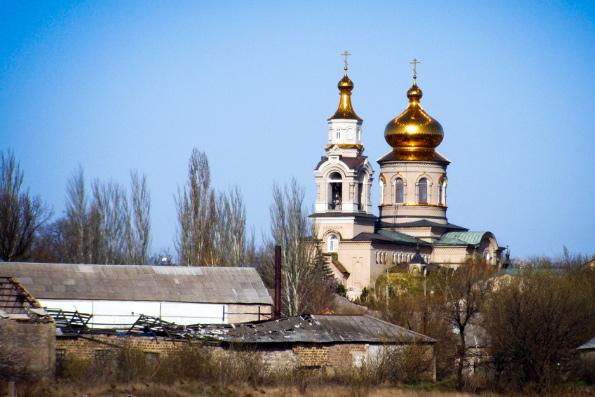 В Донецкой области в результате обстрела поврежден православный храм