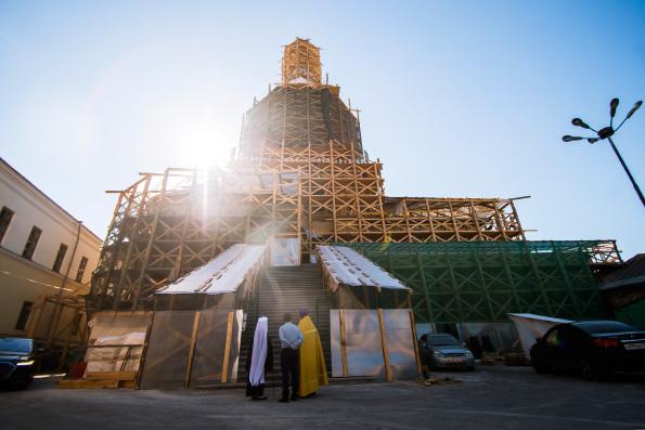 В Казани началась реставрация исторического Петропавловского собора